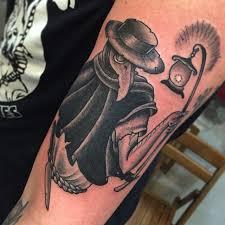 plague doctor by gin hicks timmy tattoo longisland ny icon tattoo
