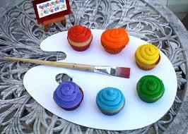 Paint Pallet by Artist U0027s Palette Cupcakes U2013 The Quotable Kitchen