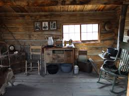 Log Home Interiors Small Rustic Cabin Interior Tiny House In A Landscape Freshittips