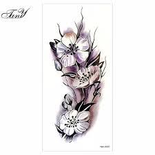 leg flower tattoos online buy wholesale flower leg tattoo from china flower leg