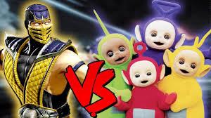 Skarlet Mortal Kombat Halloween Costume Scorpion Teletubbies Epic Battle Mortal Kombat Costume Skin
