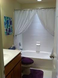 Bathrooms With Shower Curtains Your Bathroom Look Larger With Shower Curtain Ideas