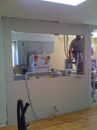 open galley kitchen designs knocking out a wall to install a bar my fifties kitchen redo