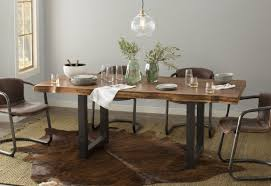 moe u0027s home collection benedict genuine leather upholstered dining