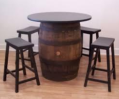 whiskey barrel table for sale whiskey barrel bar stools sooprosports com