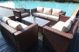 Yakoe Garden Furniture Yakoe Monaco Luxurary 8 Seater Sofa Set