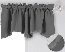 deconovo home decorations blackout curtain panels blackout valance