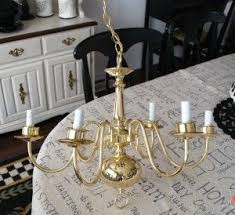 Painting Brass Chandelier Best 25 Spray Painted Chandelier Ideas On Pinterest Hurricane