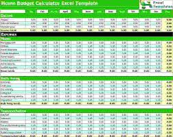 Budget Calculator Spreadsheet by 6 Budget Calculator Excel Procedure Template Sle