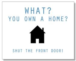 New Home Meme - new home card congratulations homebuyer card hilarious
