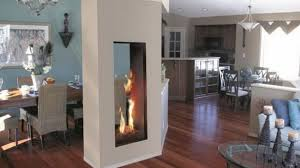 Electric Fireplace Insert Enchanting Two Sided Electric Fireplace Insert 53 For Home Decor