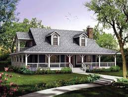 Southern Farmhouse Home Plan Impressive House Plan Chp 49287 At Coolhouseplans Com Ranch Craftsman