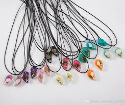 resin necklace wholesale images Wholesale conch pendant necklace shell resin curved moon shaped jpg