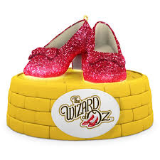 the wizard of oz ruby slippers ornament with lights keepsake