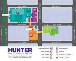 Map Of New York Subway With Streets by 68th Street Main Campus U2014 Hunter College