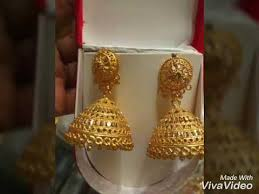 bridal jhumka earrings bridal jhumka earrings designs in gold