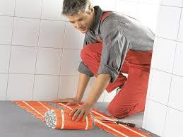 fußbodenheizung badezimmer elektrische fußbodenheizung ist perfekt fürs bad energie fachberater