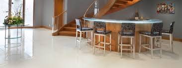 metallic glass flooring a white sea of glass flooring nathan
