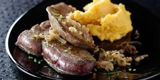 cuisiner du foie de veau foie de veau au vinaigre recettes femme actuelle