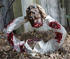 Halloween Decorations You Can Make At Home by Halloween Decorations Homemade Grave Yard Zombie Halloween
