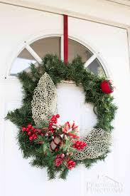 Halloween Picks For Wreaths by Diy Winter Greenery Wreath