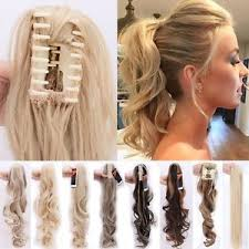 hair extensions uk uk clip in ponytail pony hair extensions claw on hair