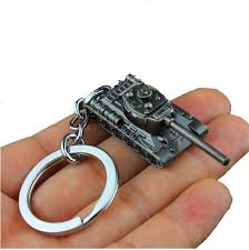 cool key rings images Edc zinc alloy key chain fashion black tank shape key ring reduce jpg
