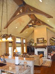 Fake Ceiling Beams by Decorative Curved Ceiling Beams Curved Beam Truss Beams