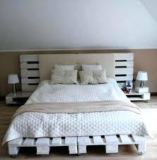 Pallet Platform Bed Palette Bed King Size Pallet Bed Realvalladolid Club