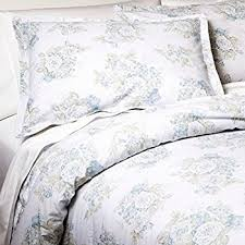 Shabby Chic White Comforter Amazon Com Simply Shabby Chic Twin Bed Comforter Set Pretty Blue