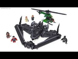 lego batman superman batwing review sky battle 76046