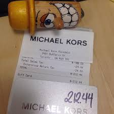 sell a gift card online find more michael kors gift card valued at 212 44 sell for 160