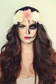 Pretty Makeup For Halloween by Best 20 Half Face Makeup Ideas On Pinterest Half Face Halloween