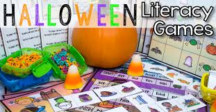 spotlight on awesome halloween reading center games that will make