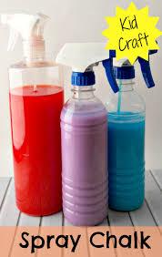 spray chalk kids activity spray chalk sprays and activities
