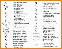 4 electrical switch symbols letterhead format