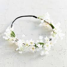 white flower headband 9 best flower crowns in summer 2017 beautiful floral headbands