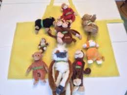10 Monkeys Jumping On The Bed Ten Little Monkeys Jumping On The Bed Apron Stories