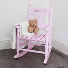 Children Armchairs Personalised Child U0027s Rocking Chair By My 1st Years