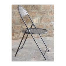 chaise de cinéma lot de 4 chaises pliantes industrielles de cinéma perforée