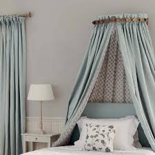 laurel half tester bed canopy oka