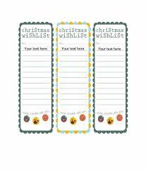 christmas wish list 43 printable christmas wish list templates ideas template archive