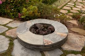 ex post facto small patio thoughts with fireplace pit