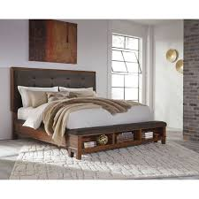 ashley storage bed design by ashley ralene king size upholstered bed with storage