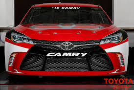 lexus toyota indonesia toyota unveils 2015 camry for nascar sprint cup series
