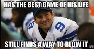 Tony Romo Interception Meme - in honor of his retirement here are the 18 best tony romo gifs and