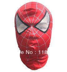 spiderman mask halloween spiderman mask costume