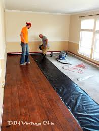 Laminate Flooring Company Diy Vintage Chic Diy Laminate Flooring