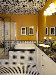 black and yellow bathroom ideas yellow bathrooms 7 bright ideas hgtv black and yellow bathroom