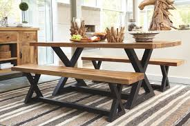 dining room picnic table wesling dining room server ashley furniture homestore